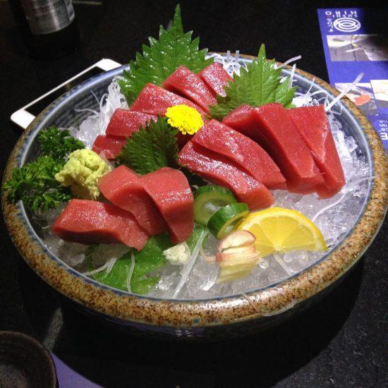 Honmaguro blue fin tuna