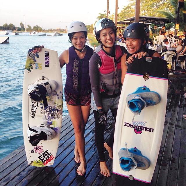 Wakeboarder girls @jibjingjing