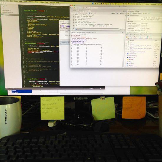 Back on hardcore coding #happymonday #datanerd #nerdalert #pitchXO #funcoding 😀😂😄😜😝😃