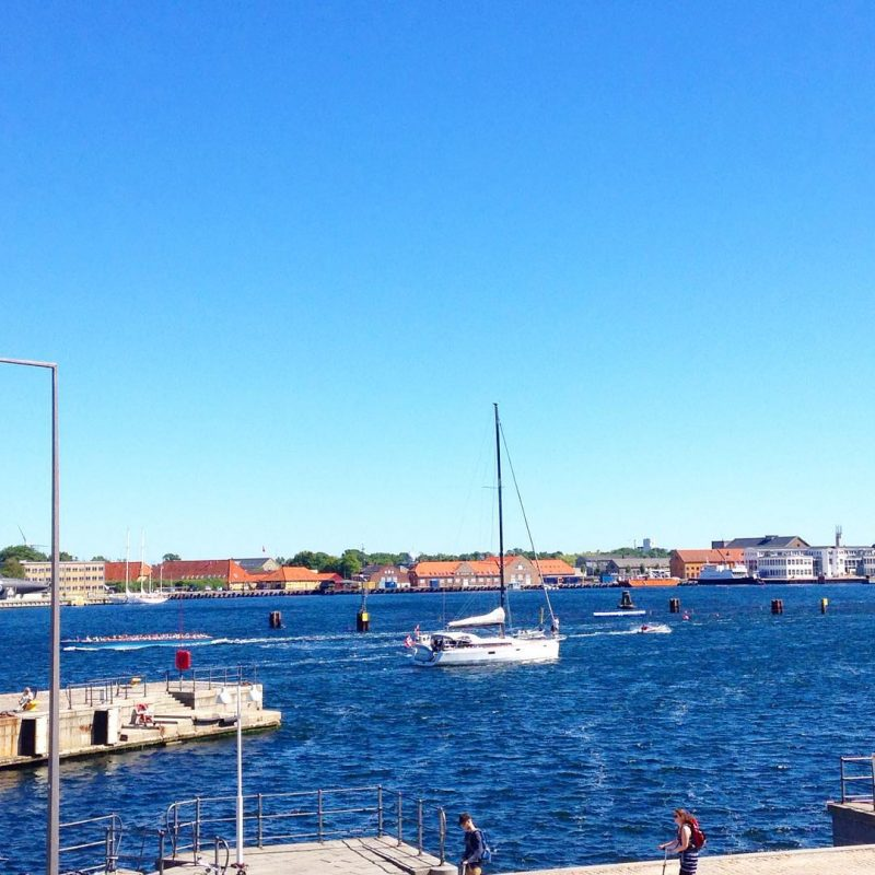 It was such a beautiful day in Denmark!