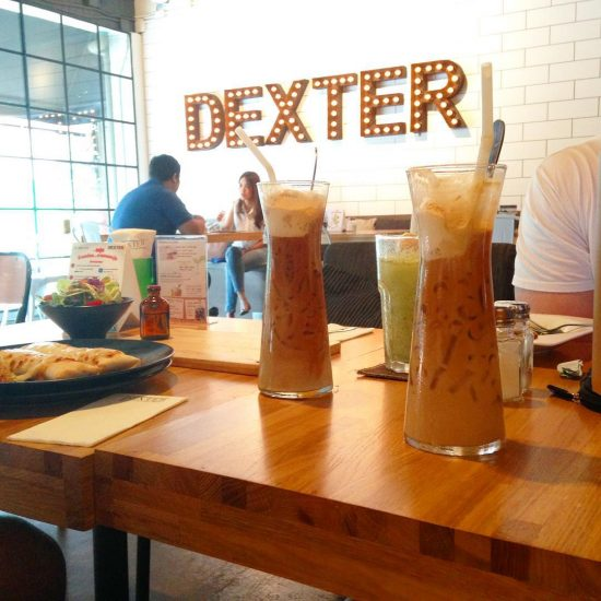 Working and having lunch at Dexter today #happythursday