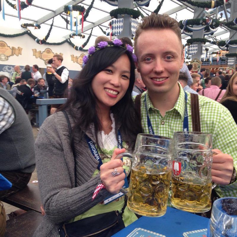 Prost to our happiness!  Oktoberfest 2015 in Munich @armyxxl