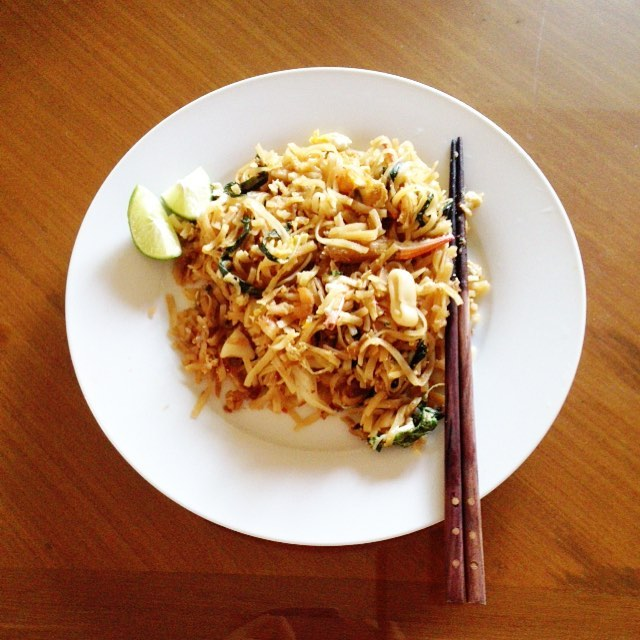 Seafood fried noodles  #happysongkran
