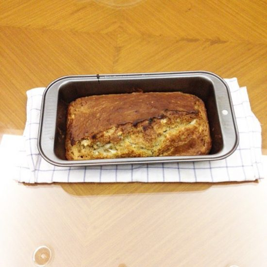 Ich habe Bananenbrot gebacken. 😍😘 Oatmeal banana almond bread #serebiifoodjournal #happyfriday 😀😄😃