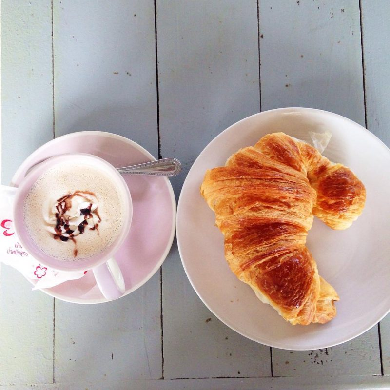 Good morning! I just had French bakery breakfast. It's a beautiful day! I gotta be productive today.  To-Do-List 🌴Working on data. 🌴I will read the book, Love from Paris. 🌴In the evening I will go to yoga class.