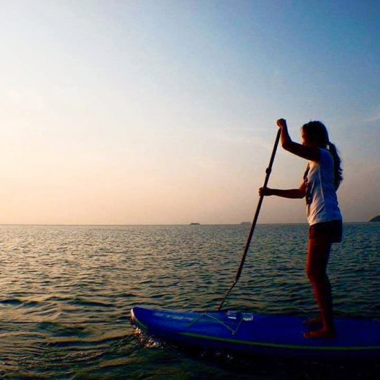 It has been raining on Samui this week. Luckily I can still do yoga during this weather.  I really look forward to seeing blue skies and ☀️ next week!  I can't wait to go on the SUP again. . . .  #girlonsamui #islandlife #standuppaddling #sup #standuppaddle #lamaibeach #samui #beachlife #fun #sea #sun #sunset #beautifulday🌞