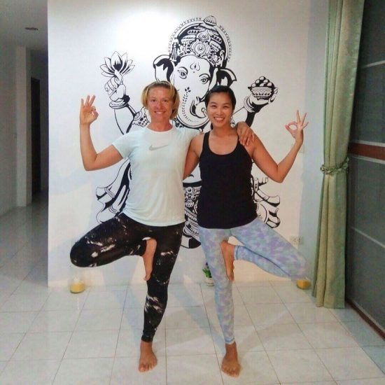It has been great to be in your yoga class at @yoga_house_samui. I have learned so much from you in the last 5 months. Hope to see you again this year. Nameste 😍💕🌴🙏🏻 photo cr. Evgeniya  #yoga #journey #islandlife #samuilife #beautifullife