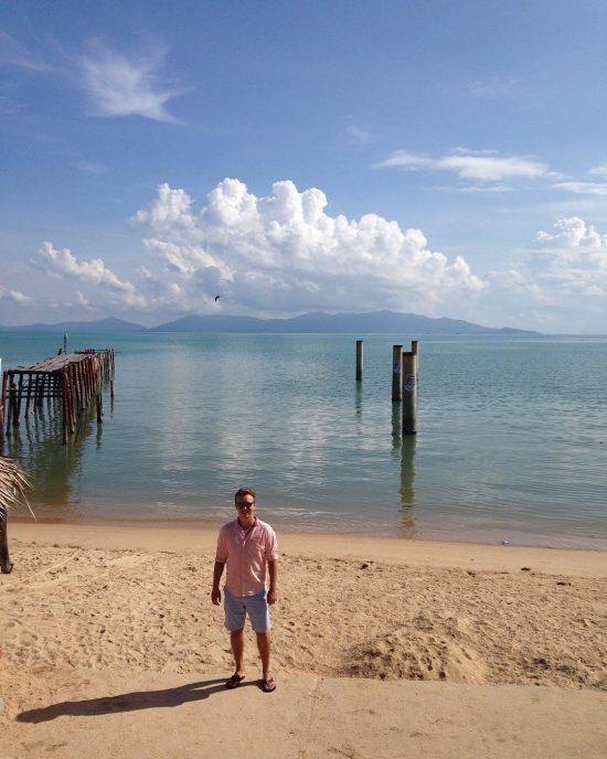 Good morning from paradise #nofilter #paradise #samui #fishermanvillage #bophut #wanderlust #beachlife #happynow #island #sea #sand #sun #everydaybeachday ☀️🌴🌊🌞😍💕👍🏻