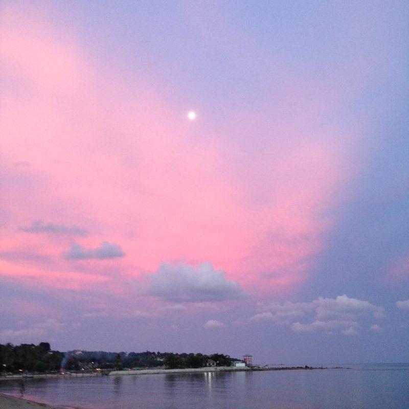 Pink sunset 🌅