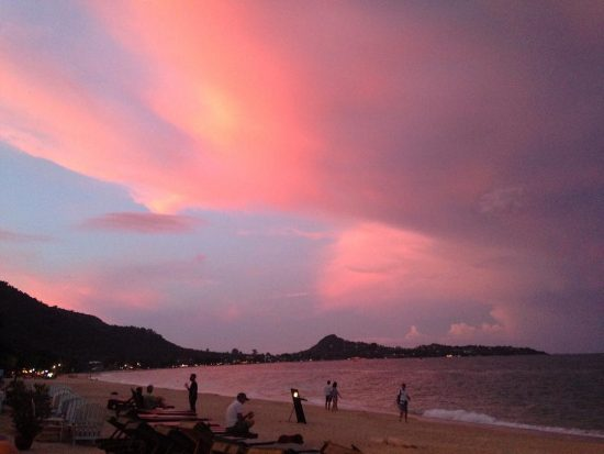 Beautiful sunset 🌅🌅 #nofilter #girlonsamui #samui #island  #sunset