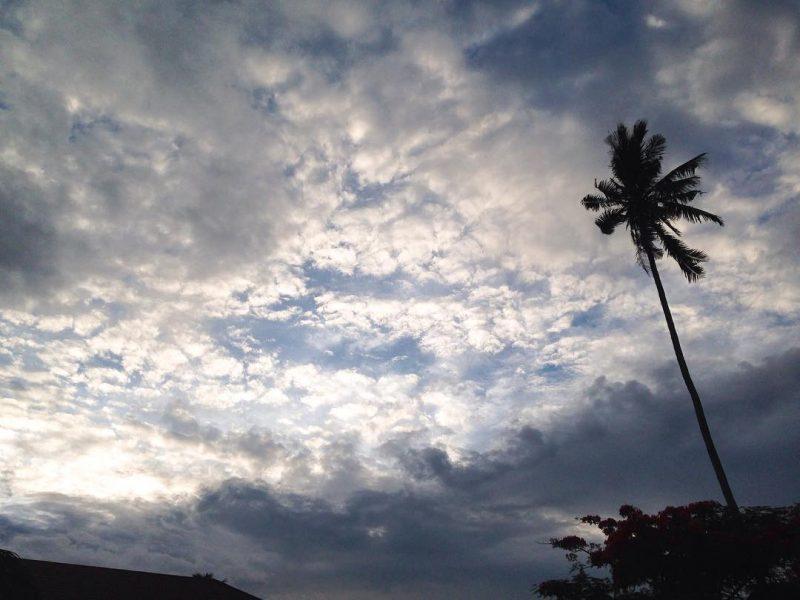 Evening sky 🌌