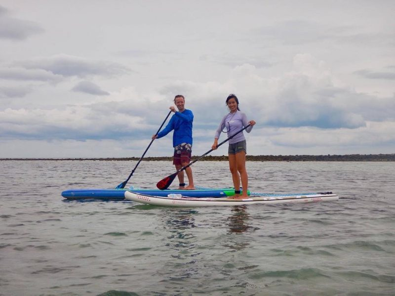 Trying out our new boards