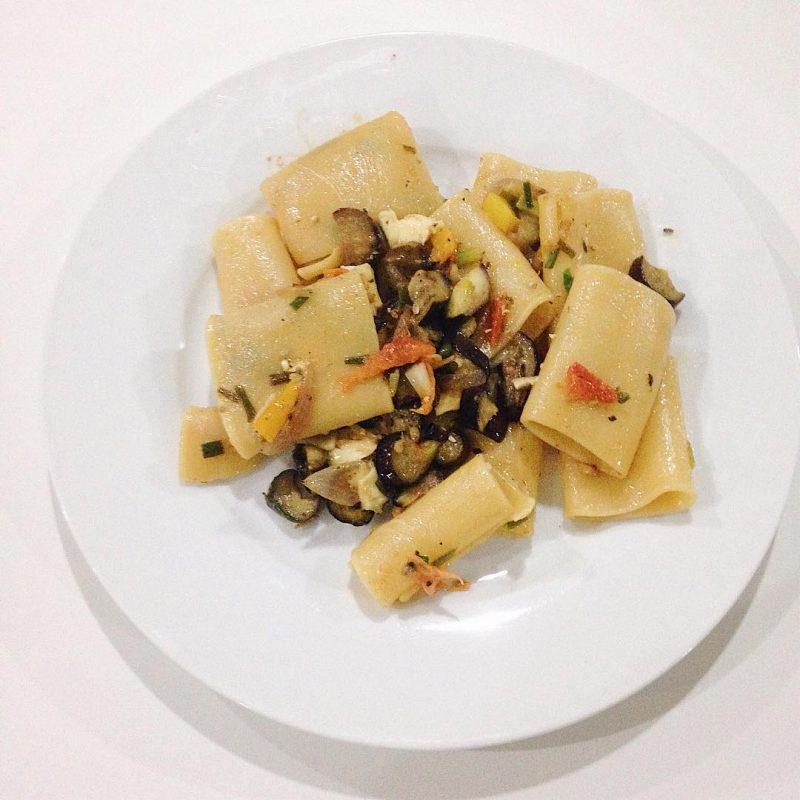 Eggplant pasta 🍝 🍆