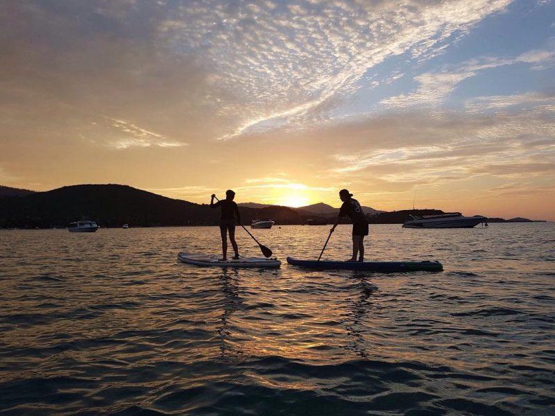 Throw back, last week paddled with @iamnatchamas