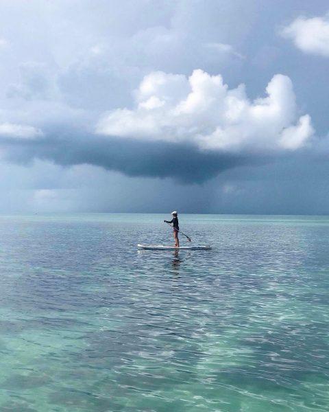Morning paddling