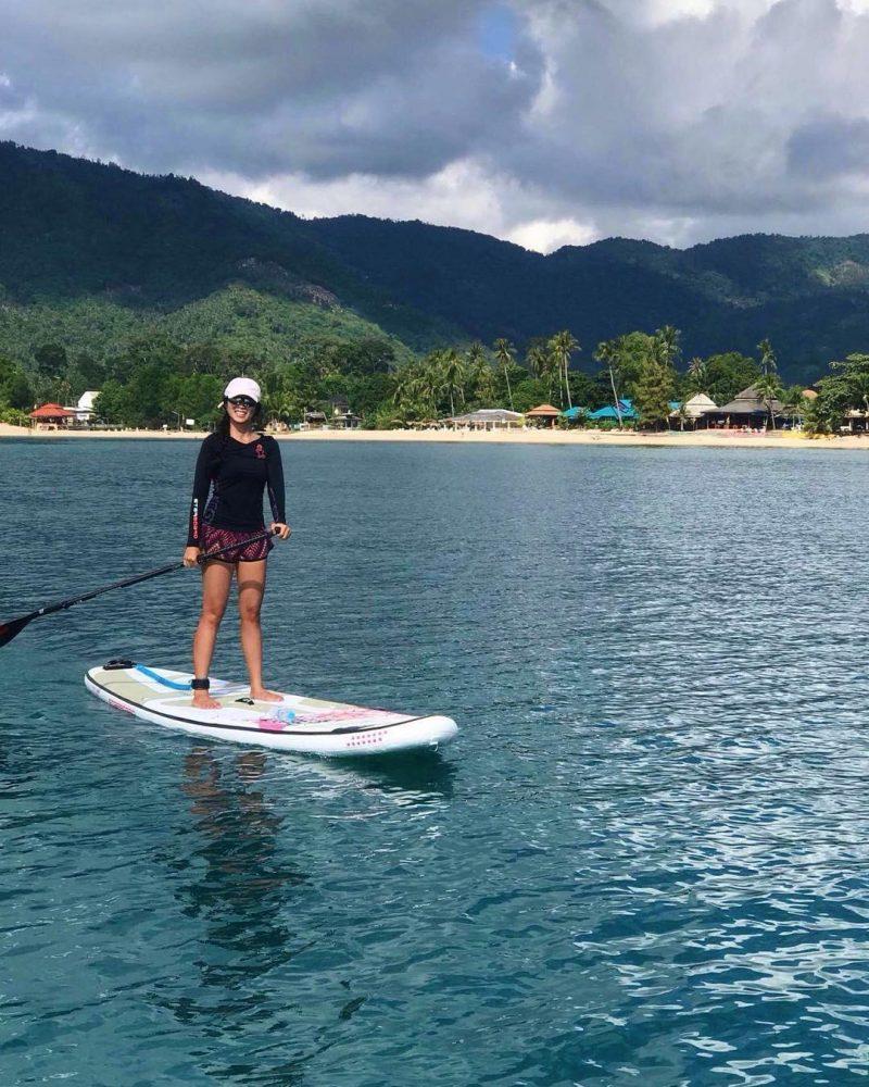 Morning paddling Morning paddling