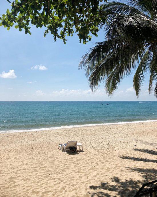 Good morning from Lamai beach 🏖