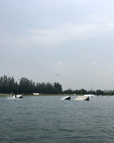 I'm back on the wakeboard!! Yay!! Feeling good!