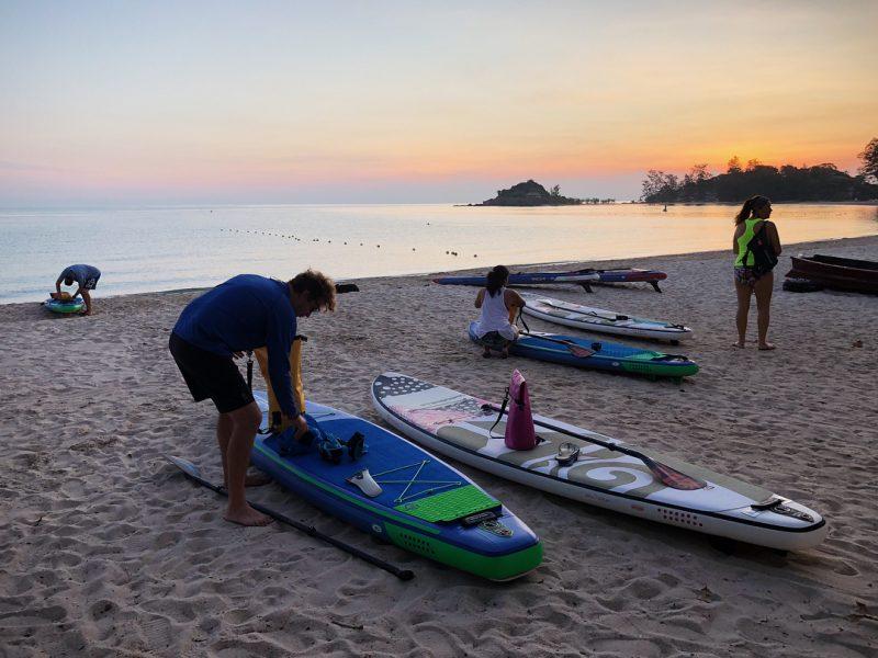Day 1 Paddle around Koh Samui credit 📷 @isupsamui . . . . . #iloveSUP #keeppaddling #SUP #standuppaddle #standuppaddling #morningSUP #islandlife #happiness #girlonsamui #beachlife #islandgirl #simplelife
