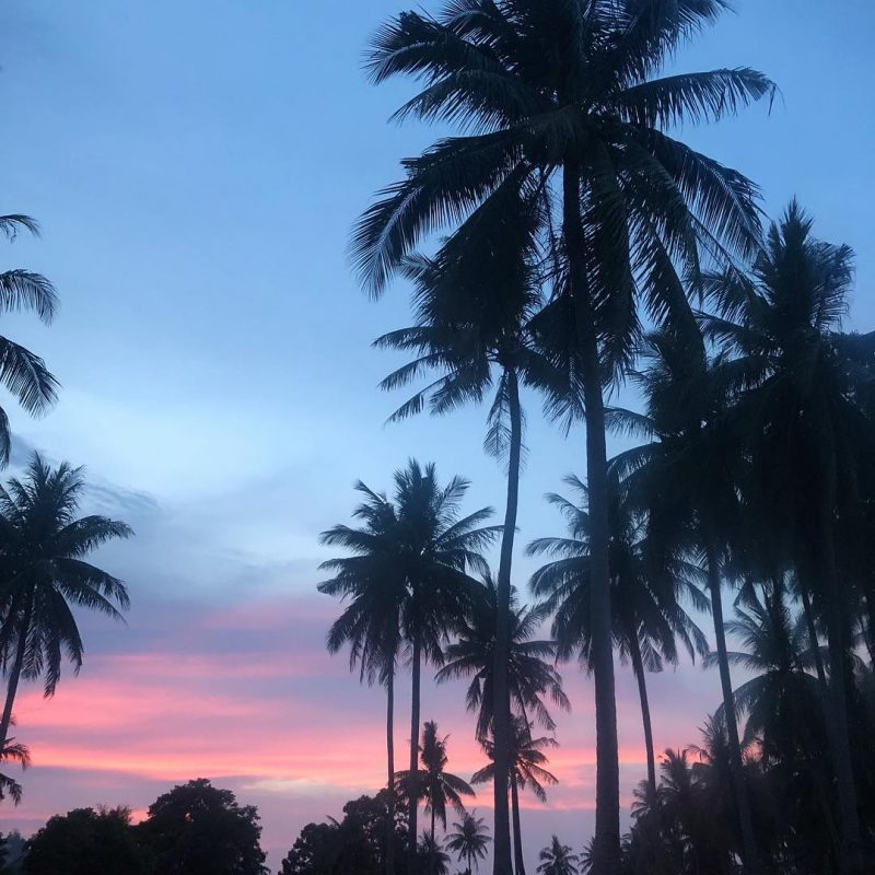 Beautiful sunset 🌅 in the south-west of Koh Samui