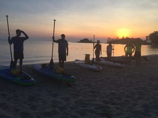 Day 1 Paddle around Koh Samui credit 📷 @isupsamui . . . . . #iloveSUP #keeppaddling #SUP #standuppaddle #standuppaddling #morningSUP #islandlife #happiness #girlonsamui #beachlife #islandgirl #simplelife