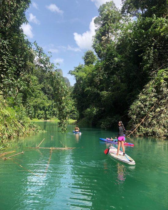 Paddled in Khao Sok national park