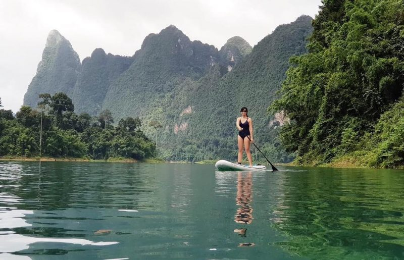 Paddled in Khao Sok national park