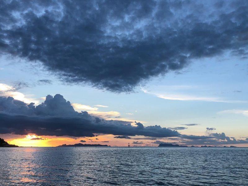 Sunset 🌅 #sunset #kohsamui #thailand #beautiful #loveit