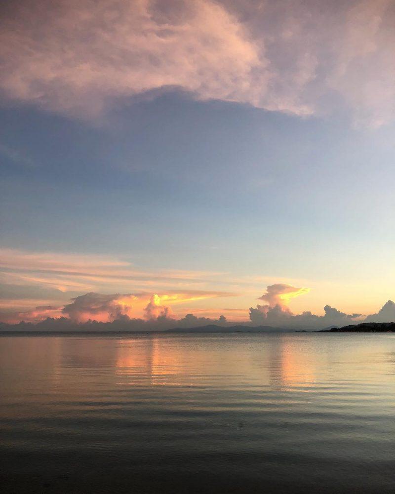 Amazing #sunset at Lamai beach