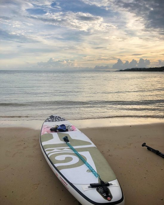 Evening paddle in Lamai 14-11-18