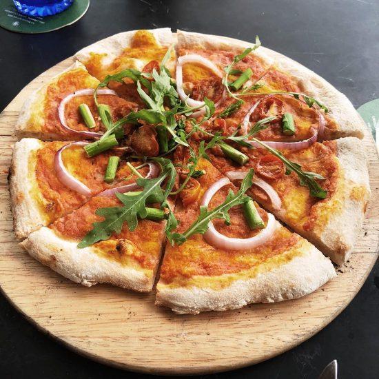 Love this vegan pizza!