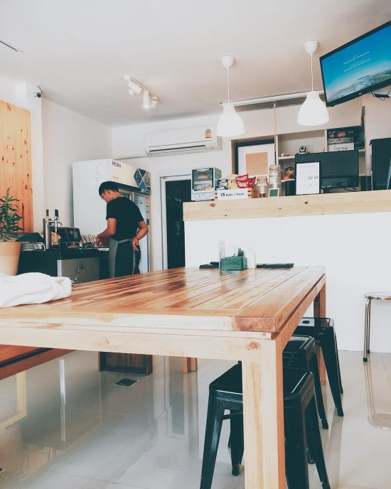 We just found a new nitro cold brew coffee and board game cafe in lamai. We are recently into playing board games since our Vietnam trip. We played exploding kittens and monopoly with our friends during the Vietnam trip.  I forgot to write the name of this cafe. It's opposite to Mynt bar on Lamai beach road. We just made friend with the owner. we plan to go there this weekend. Anyone who like playing board games, come to join us. Can't wait to play board games there.  #nerdycouple
