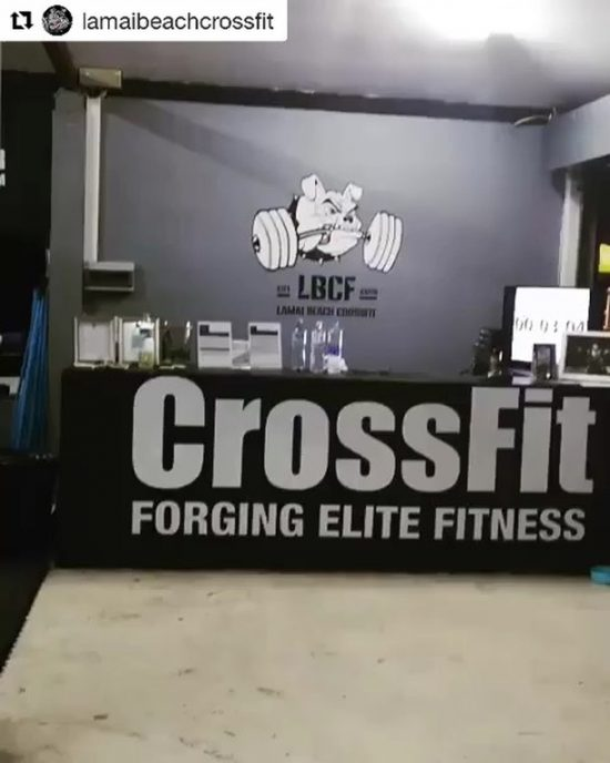 #repost it was super fun working out at Lamai beach crossfit yesterday. We are glad to be a part of the community. 🙏🏻🏋🏻‍♀️🥰 come to join us there! 🇹🇭
