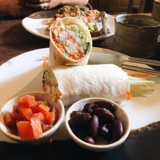 Yummy Prawn burrito