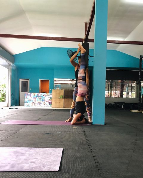It has been a while. I'm back on the mat again. Morning yoga class with Teacher Noi at Lamai Beach Crossfit Namaste 🙏🏻 🧘🏻♀️💪🏻🥰 ➡️➡️➡️➡️➡️➡️➡️. #yogajournal #yoganote #yogilife #yoga #yogainspiration #yogaeverydamnday #yogamotivation #yogabuddies