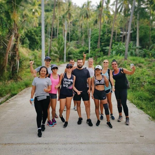 Started our 1st day of June with 7 AM hiking to overlap stone with Lamai Beach Crossfit crew