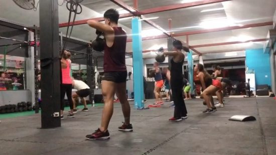 Friday CrossFit . . . . . . #crossfitdiary #fitness #crossfit #lamaibeachcrossfit #samui #thailand #crossfitsamui #getfitwithme #funworkout #stronggroup #workoutmotivation #workoutinspiration #crossfitcouple #goodvibes #crossfitnearbeach