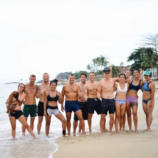 We had such a great time working out on the beach with Lamai Beach CrossFit crew.  Great start our Saturday! 🏖 📸 @fun_o_o . . . . . #crossfitdiary #fitness #crossfit #lamaibeachcrossfit #samui #thailand #crossfitsamui #getfitwithme #funworkout #stronggroup #workoutmotivation #workoutinspiration #crossfitcouple #goodvibes #crossfitnearbeach  #crossfitthailand #thailandcrossfit #crossfiteverydamnday  #crossfitters  #crossfitbeach