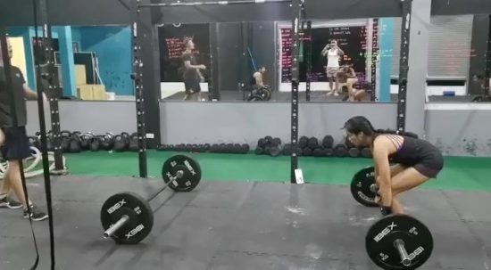 Clean and Jerk day 🏋🏻‍♂️🏋🏼‍♀️ @armyxxl . . . . . . . #crossfitdiary #fitness #crossfit #lamaibeachcrossfit #samui #thailand #crossfitsamui #getfitwithme #funworkout #stronggroup #workoutmotivation #workoutinspiration #crossfitcouple #goodvibes #crossfitnearbeach