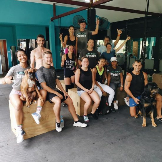 Saturday morning CrossFit was really fun!! .⠀ .⠀ .⠀ .⠀ .⠀ #crossfitdiary #fitness #crossfit #lamaibeachcrossfit #samui #thailand #crossfitsamui #getfitwithme #funworkout #stronggroup #workoutmotivation #workoutinspiration #goodvibes  #frontsquat #crossfitthailand #thailandcrossfit #crossfiteverydamnday