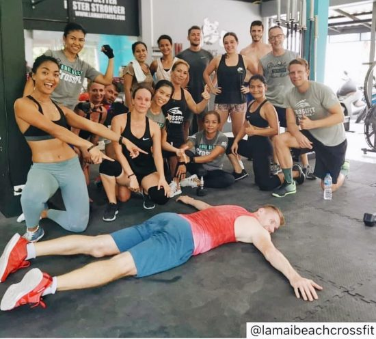 #repost Monday morning CrossFit & Happy Mother's day in Thailand! 🇹🇭 .⠀ .⠀ .⠀ .⠀ .⠀ #crossfitdiary #fitness #crossfit #lamaibeachcrossfit #samui #thailand #crossfitsamui #getfitwithme #funworkout #stronggroup #workoutmotivation #workoutinspiration #goodvibes  #frontsquat #crossfitthailand #thailandcrossfit #crossfiteverydamnday