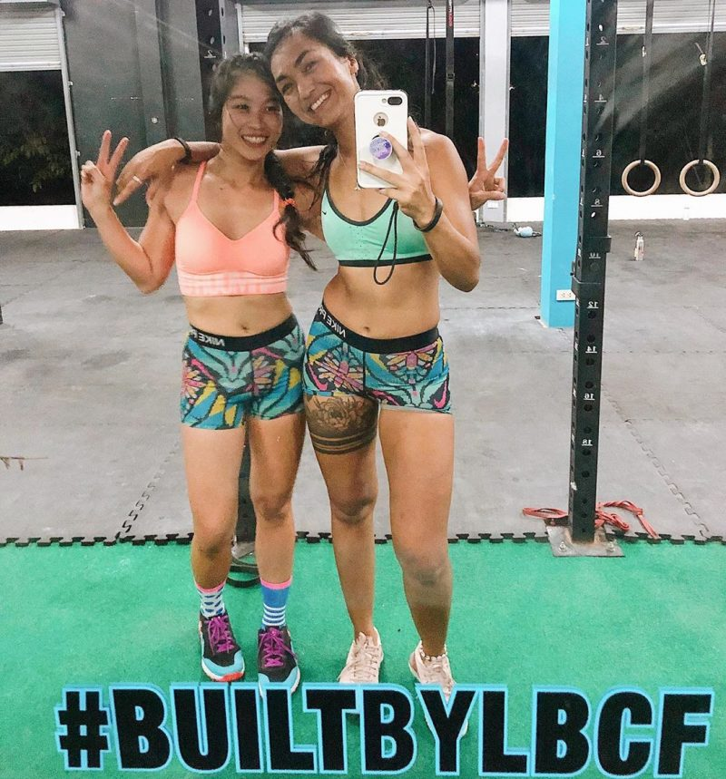 New twin shorts 😍😍🤪💪🏻🏋🏻‍♀️🏋🏻‍♀️ #crossfitdiary #fitness #crossfit #lamaibeachcrossfit #samui #thailand #crossfitsamui #getfitwithme #funworkout #stronggroup #workoutmotivation #workoutinspiration #goodvibes  #crossfitthailand #thailandcrossfit #crossfiteverydamnday