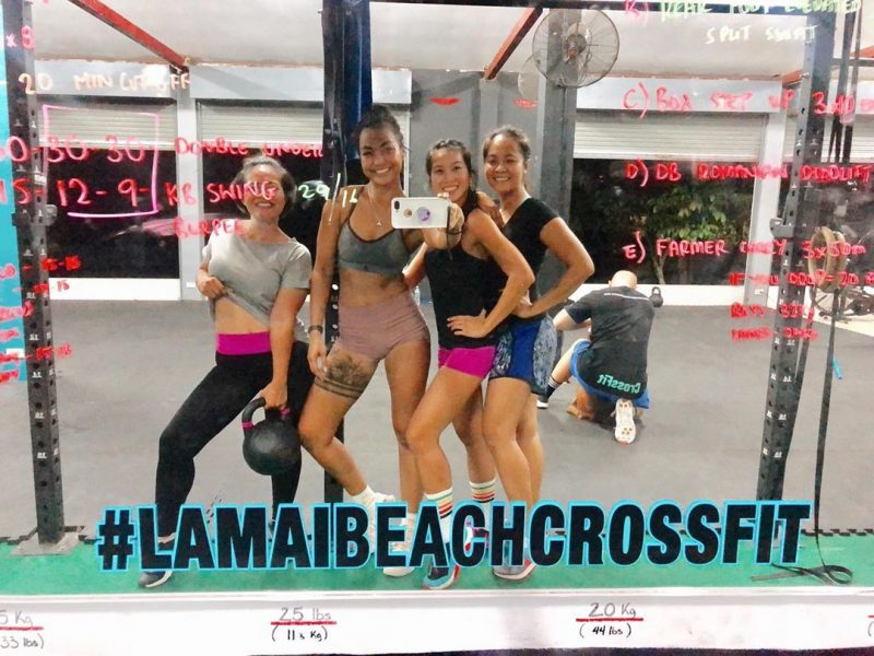 New #lamaibeachcrossfit selfie corner #crossfitdiary #fitness #crossfit #lamaibeachcrossfit #samui #thailand #crossfitsamui #getfitwithme #funworkout #stronggroup #workoutmotivation #workoutinspiration #goodvibes  #crossfitthailand #thailandcrossfit #crossfiteverydamnday