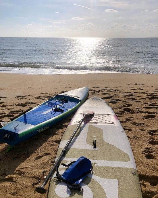 Saturday morning SUP with @samuifitnessretreat