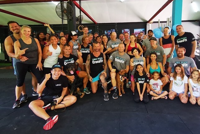 Happy one year anniversary of Lamai Beach CrossFit! Thank you for bringing so much joy and happiness to our lives. Thank you for a great community and family. Thank you for staying fit together. Thank you for everything! Pam & Markus 📸 @fun_o_o ⠀ .⠀ .⠀ .⠀ .⠀ .⠀ .⠀ #crossfitdiary #fitness #crossfit #lamaibeachcrossfit #samui #thailand #crossfitsamui #getfitwithme #funworkout #stronggroup #workoutmotivation #workoutinspiration #goodvibes  #crossfitthailand #thailandcrossfit #crossfiteverydamnday