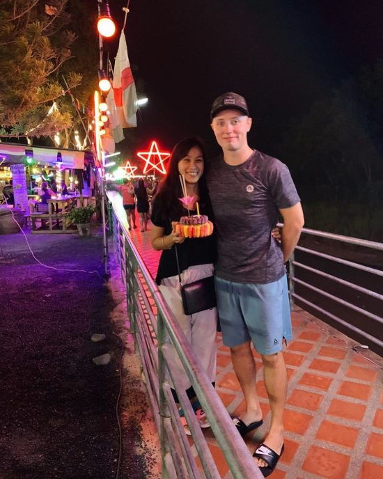 Happy Loy Krathong 2019! Yesterday we went to Loy Krathong festival on lamai beach. Every year we celebrate Loy Krathong together. Love you Boo boo xoxo 💋