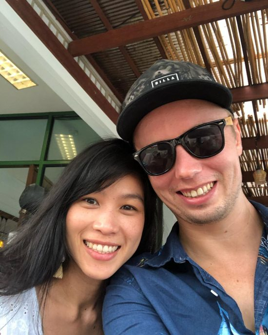 2019 has been great for us.  1. Markus proposed me on January 1, 2019 that he would join CrossFit with me. He has been doing it for one year now.  2. We are thankful for having good family and friends, good health, and good living on Koh Samui.  3. Our businesses have been doing good. 4. I completed 90% applied python with data science course.  5. We traveled to Vietnam, Bangkok, Koh Kood, Germany and Phuket.  6. I still love doing CrossFit, yoga and SUP.  7. We are ready for 2020.  See you next year!  xoxo  Taiwaree